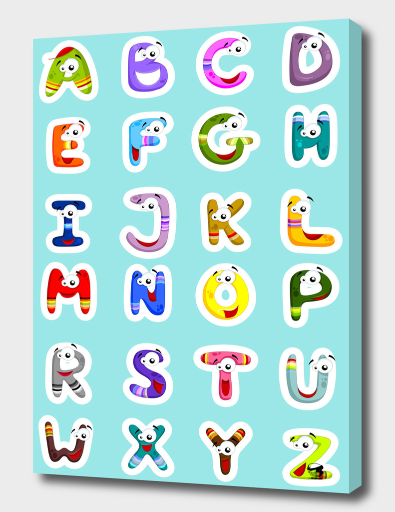 Funny letters for kids