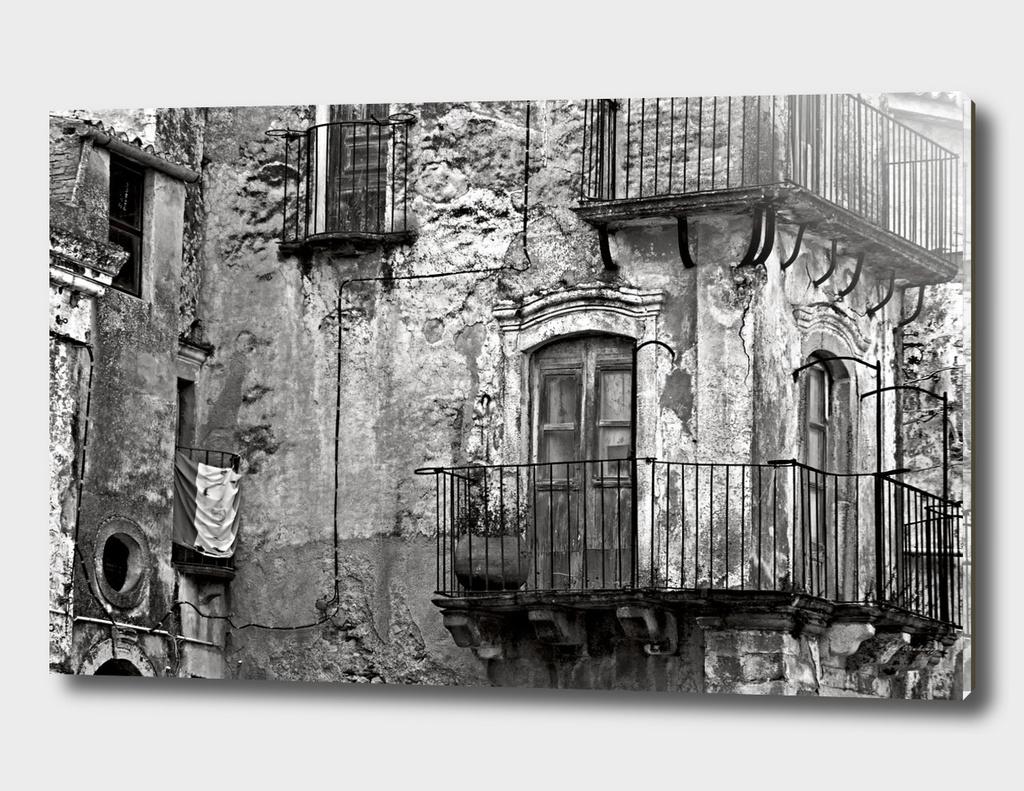 Sicilian Medieval Facade