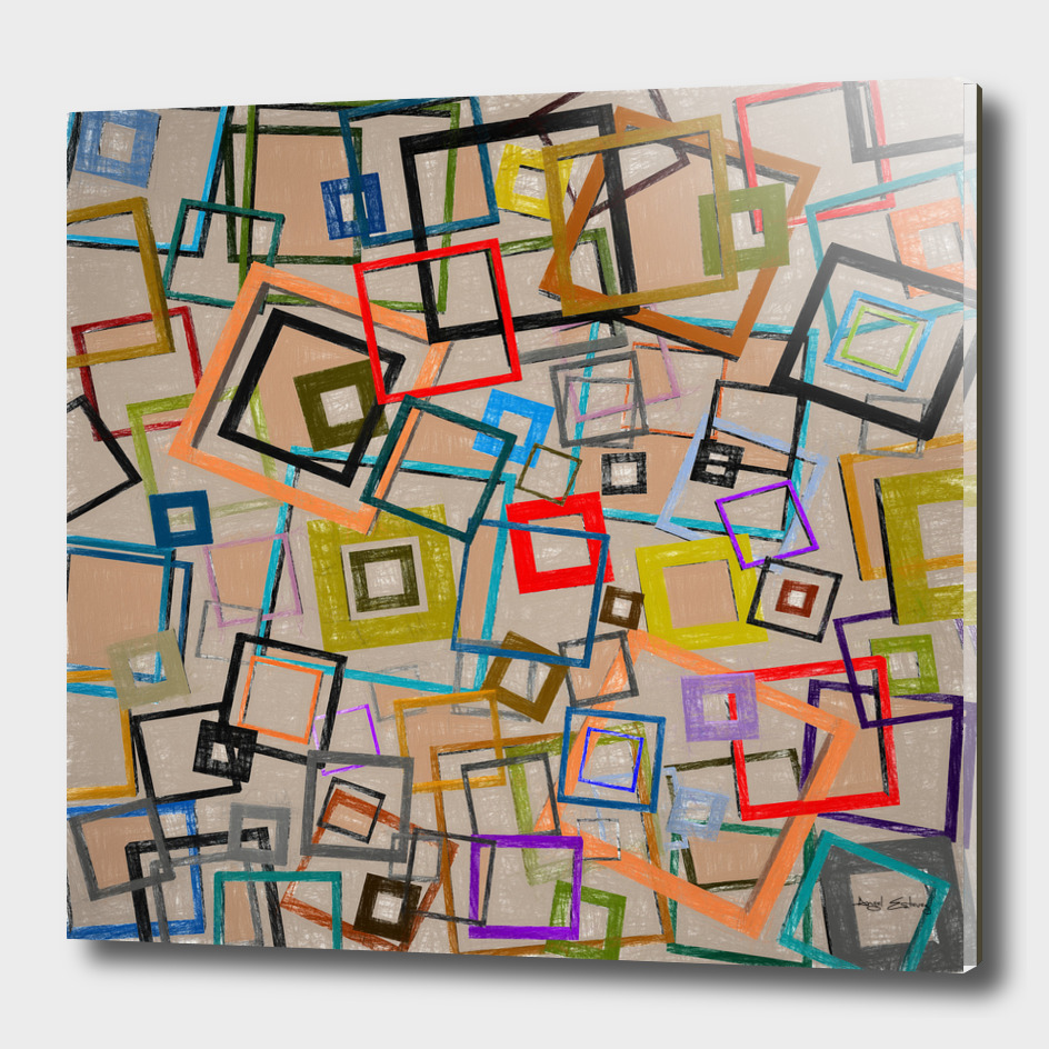 Abstract composition 500