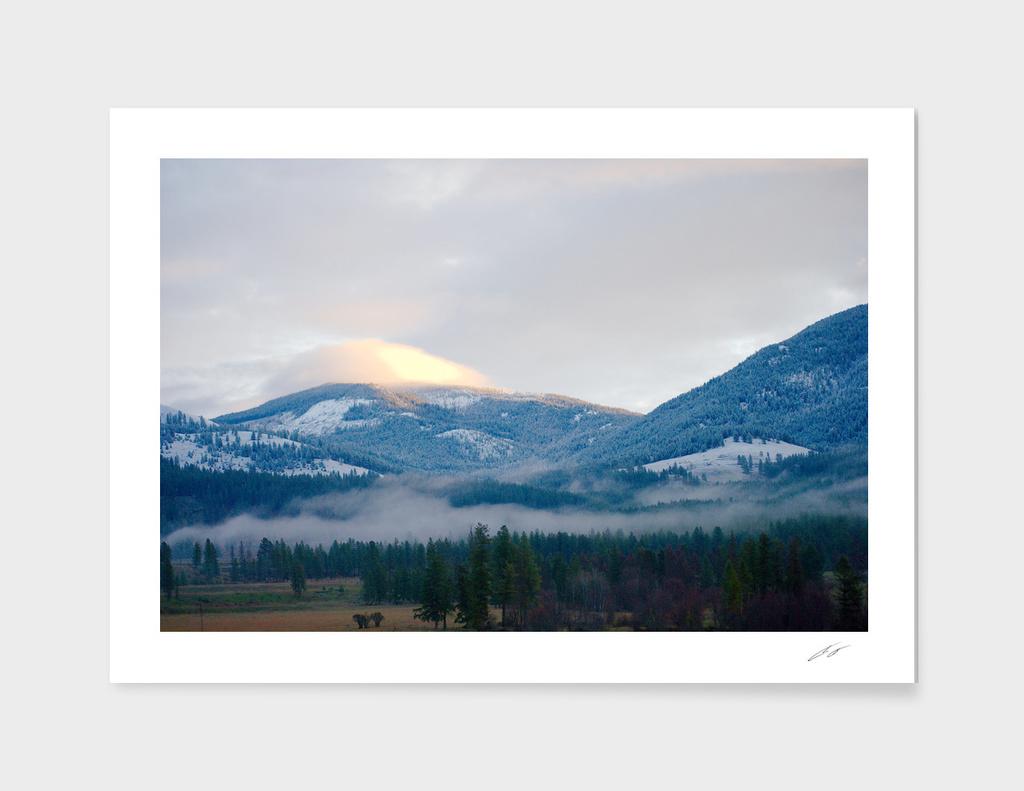 Cloud Cap on Comstock MT