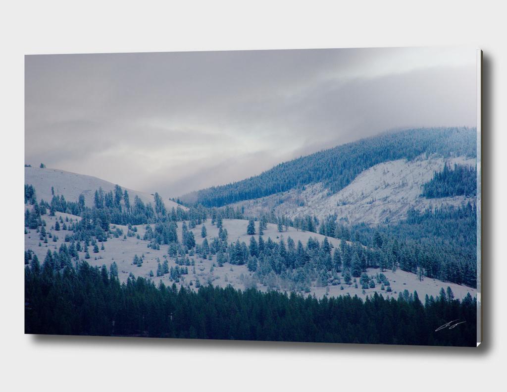 Comstock MT Winter View