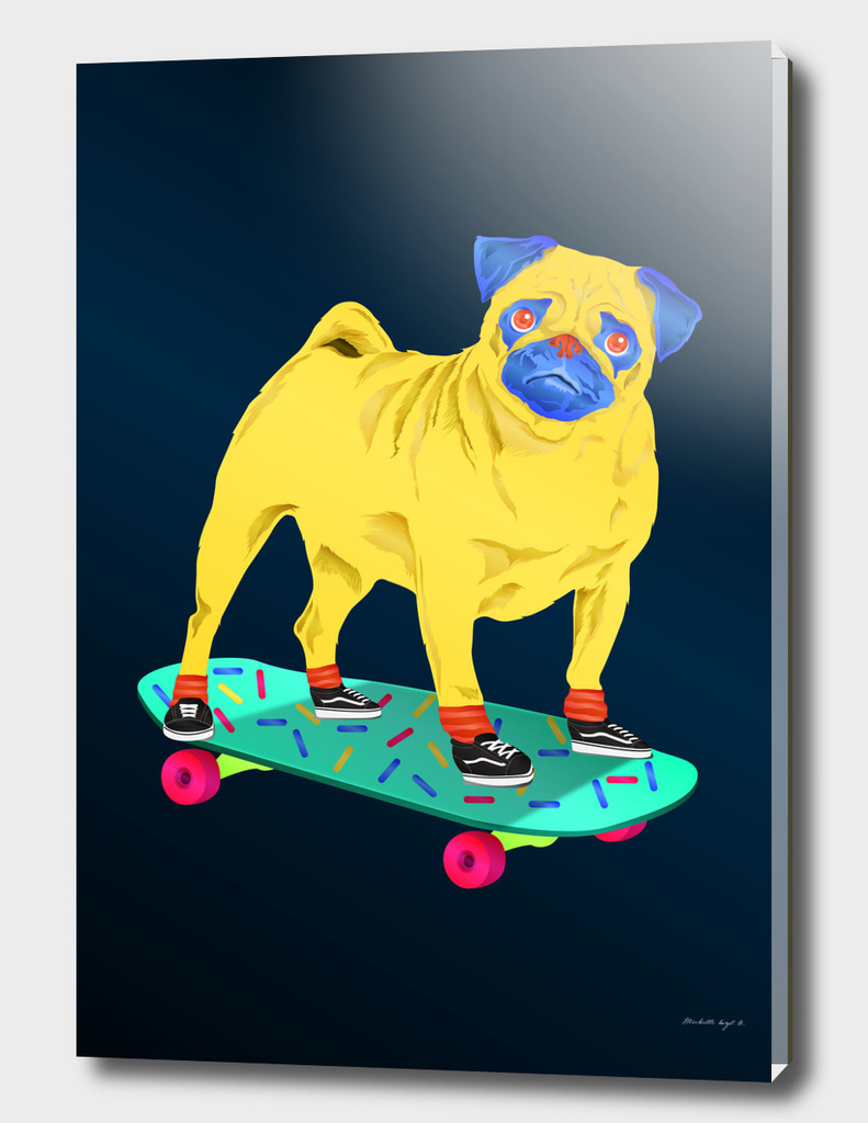 Skater Pug