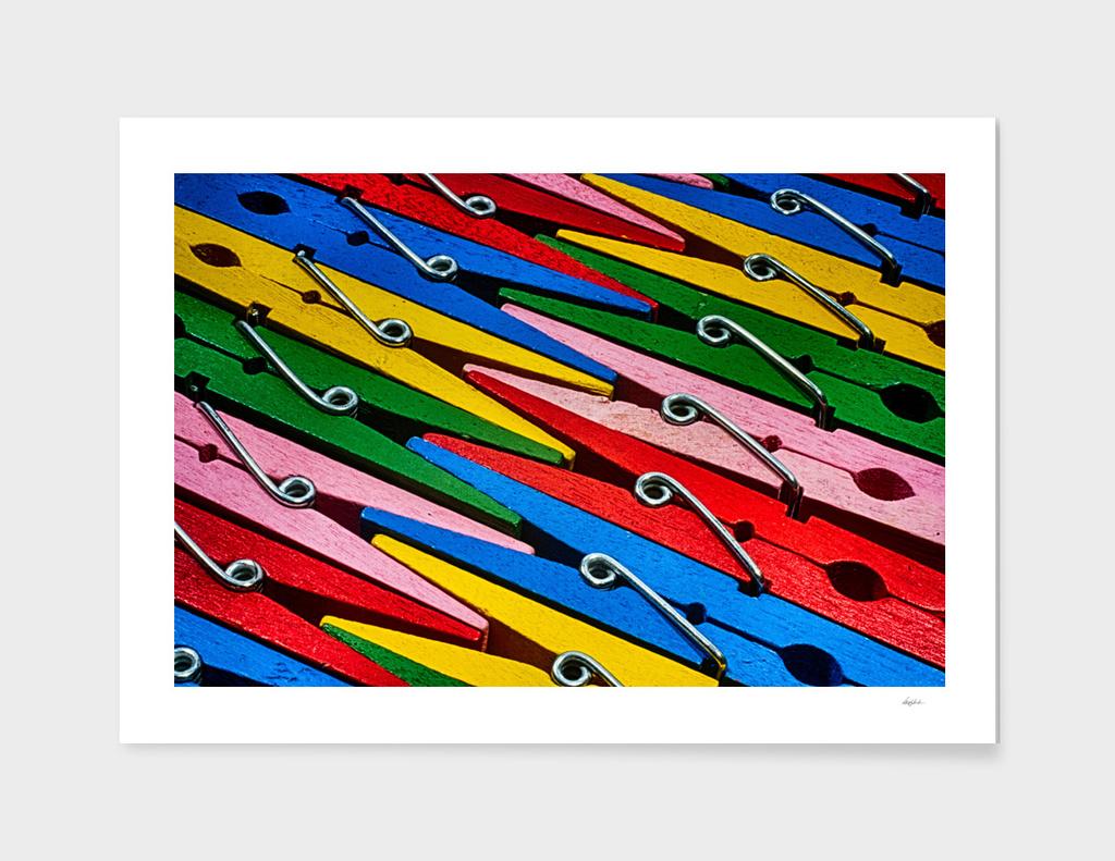 Clothespin Rainbow