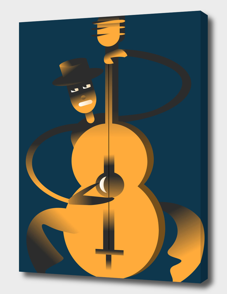 Jazz Double Bass Solo