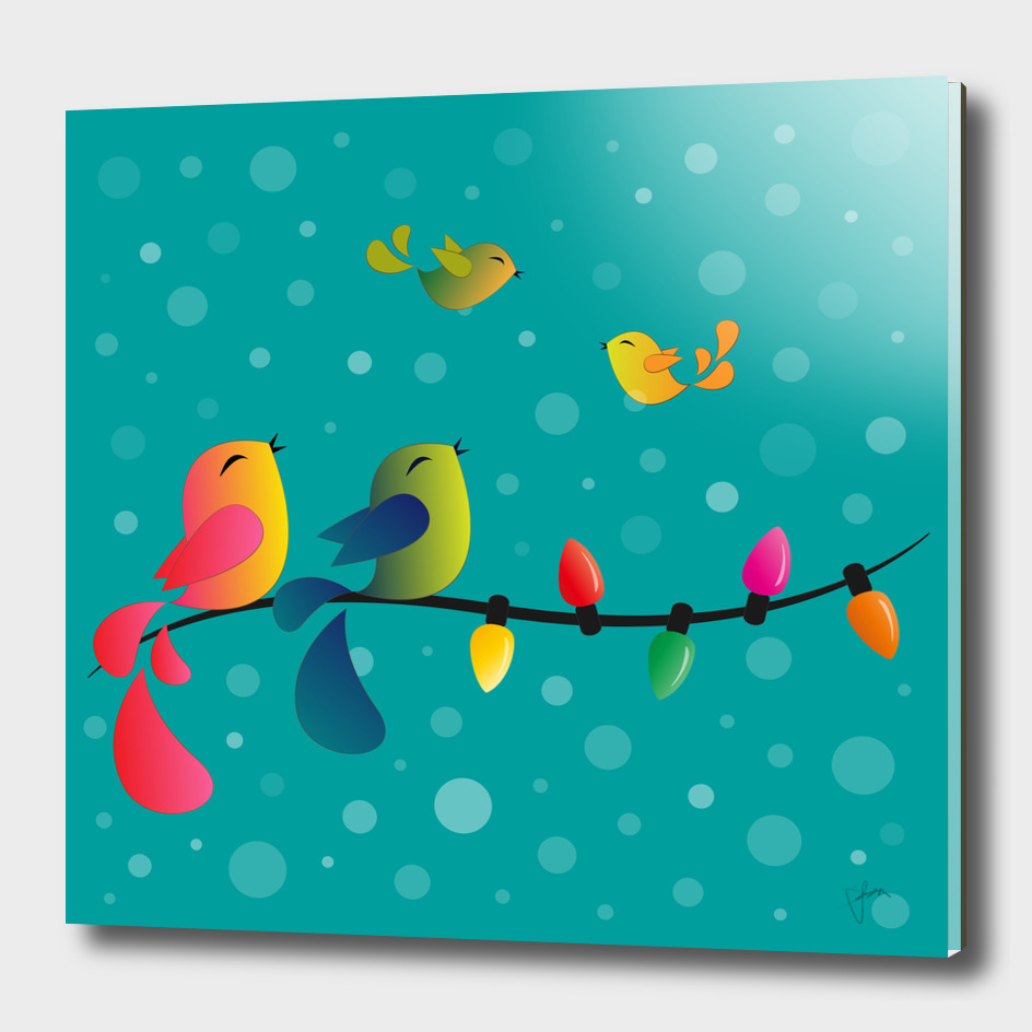 Fly High, My Babies - Merry Christmas