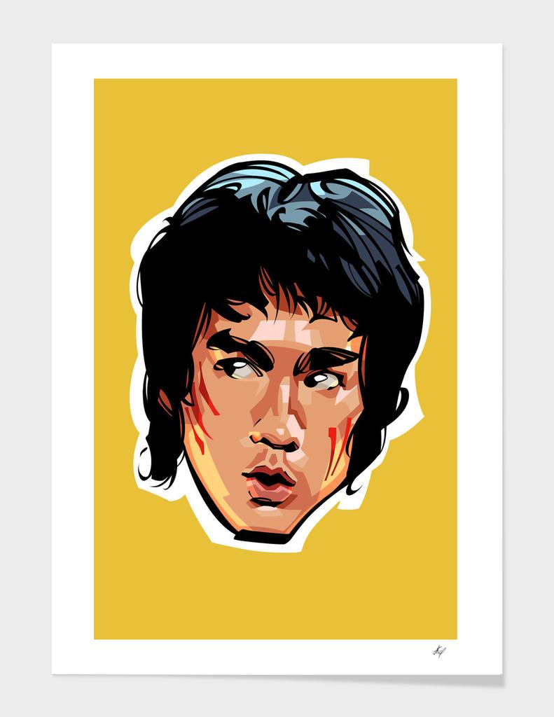 Bruce Lee Head