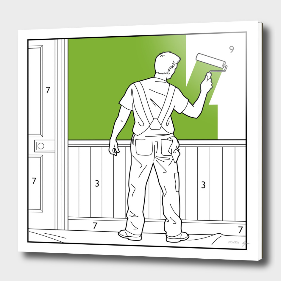 Painting and Decorating by numbers