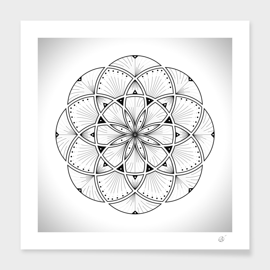 Mandala - Dash n' Dot