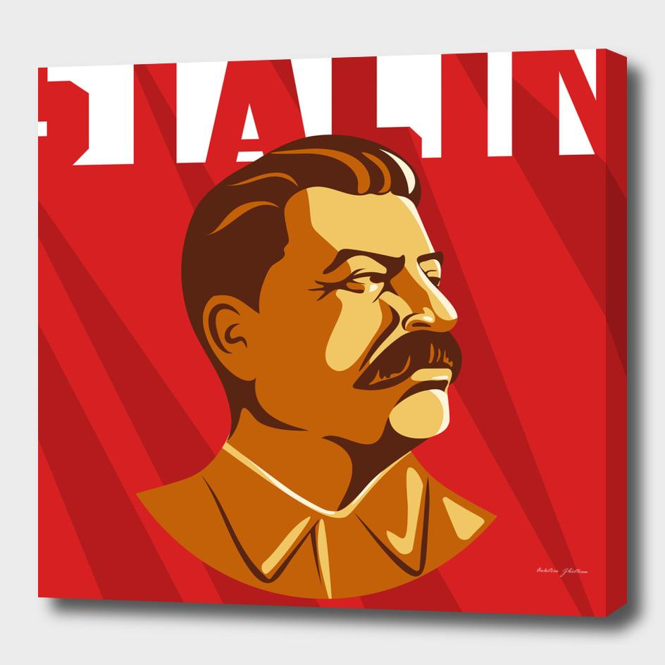 Portrait of Joseph Stalin.