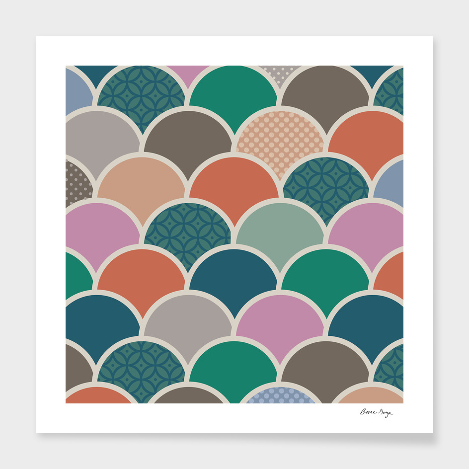 Scallop Pattern I