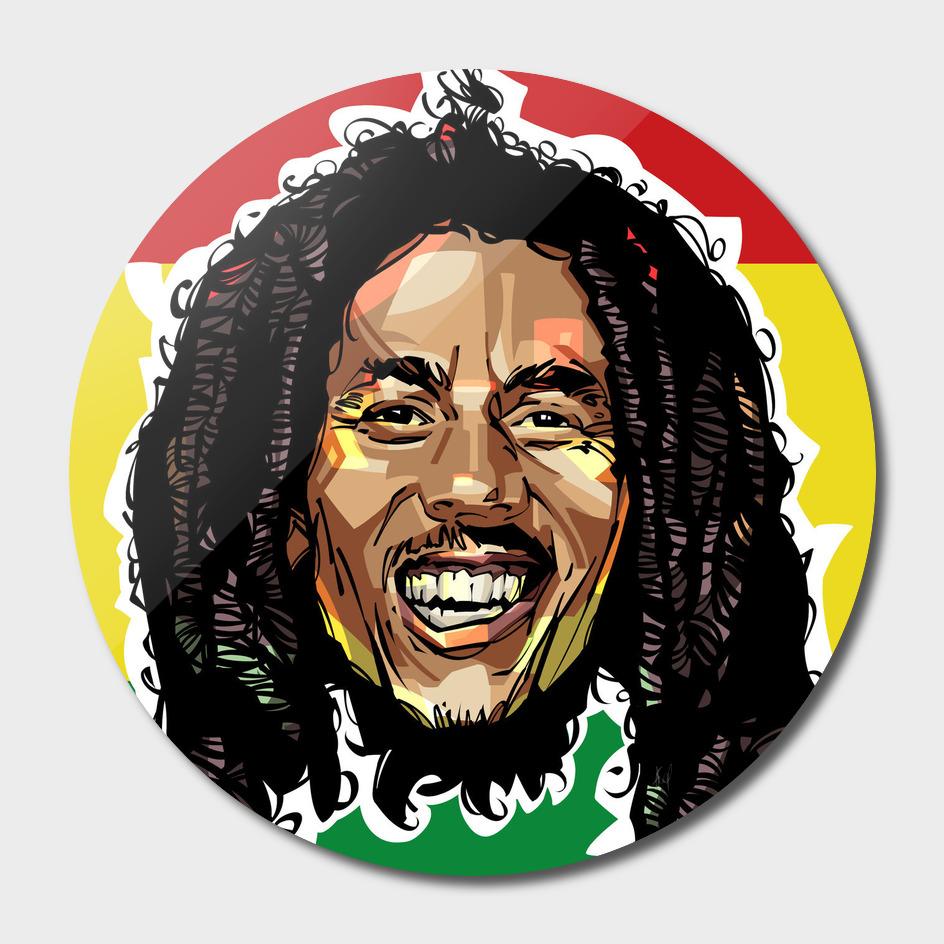 Bob Marley Head