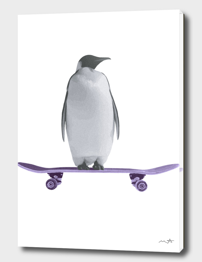 Skating Penguin