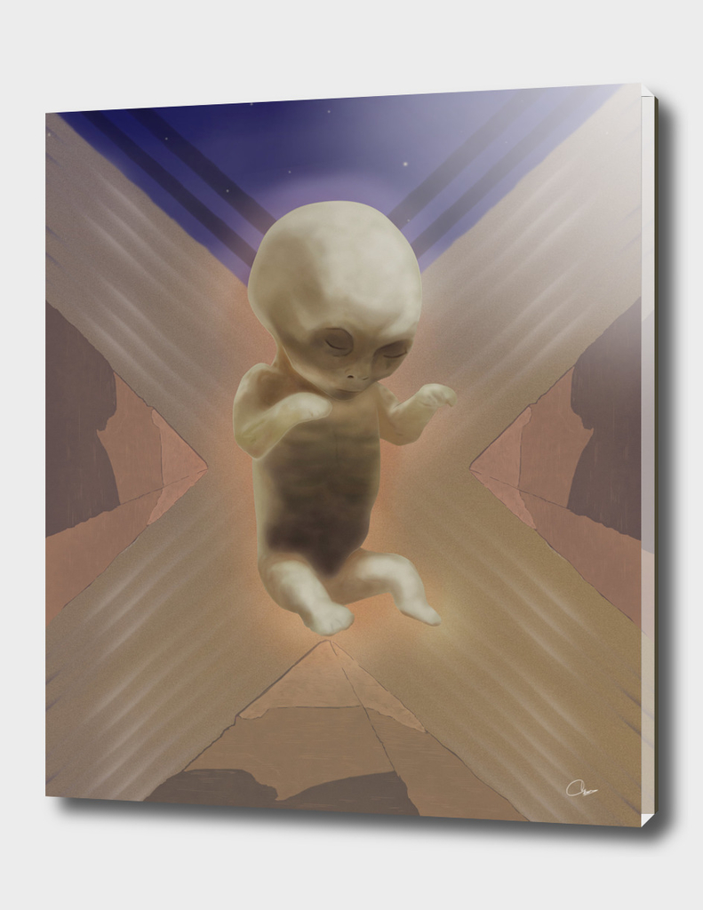 Ancient Baby Alien
