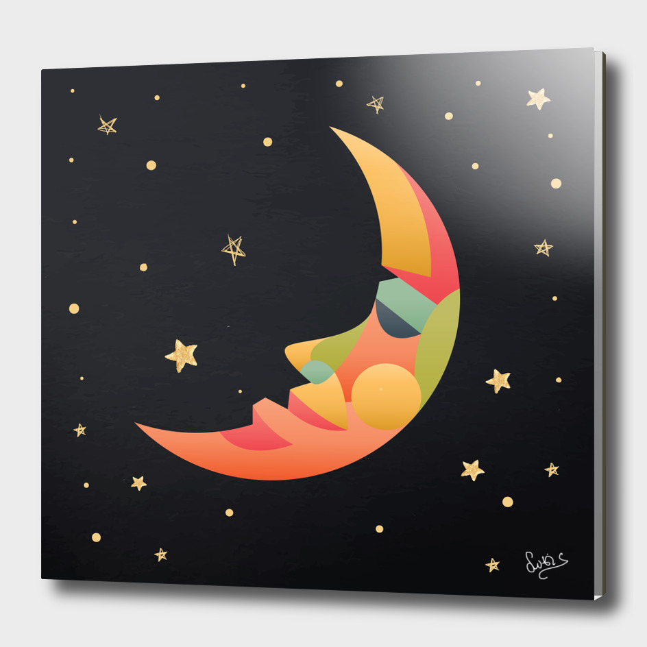 Imaginative Moon