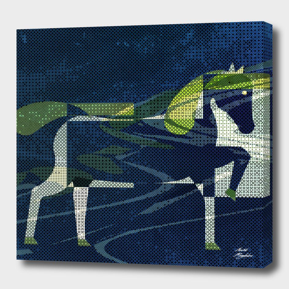 horses - four