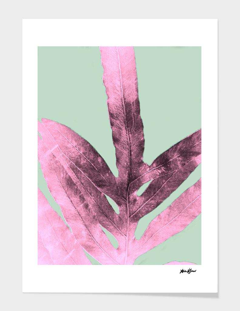 Sepia Fern Purple