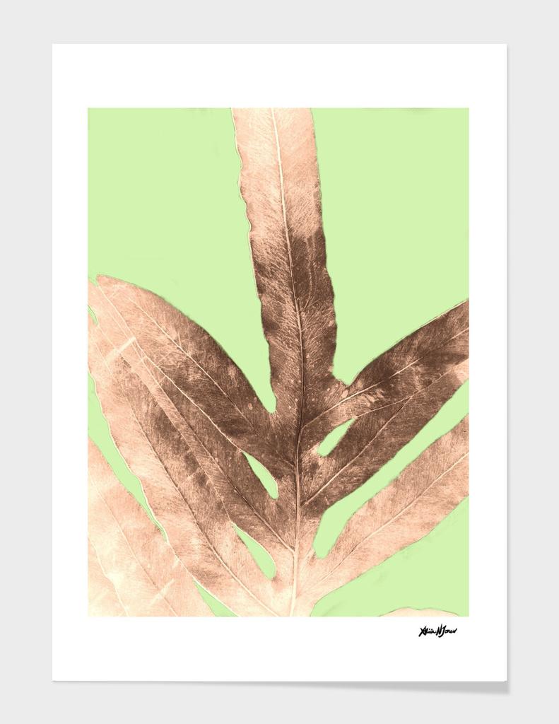 Antique Sepia Fall Green