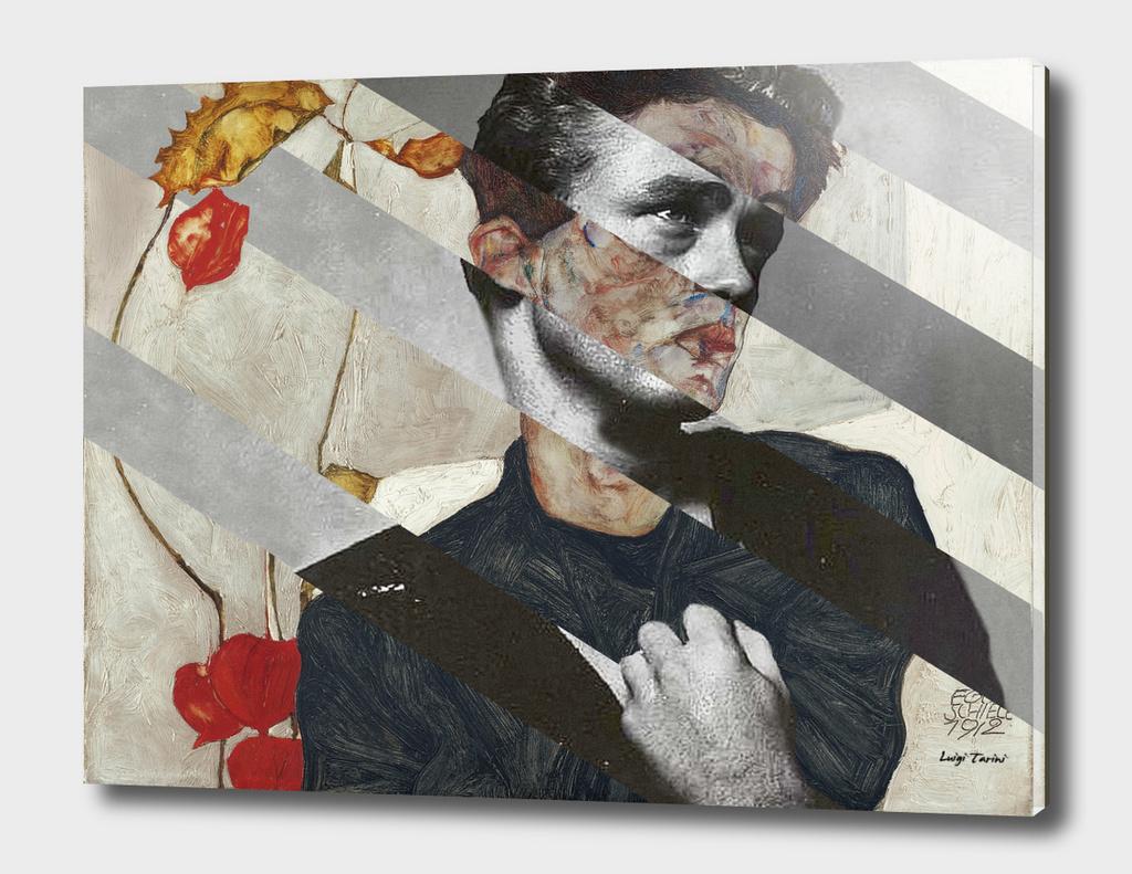 Egon Schiele's Self Portrait & James Dean