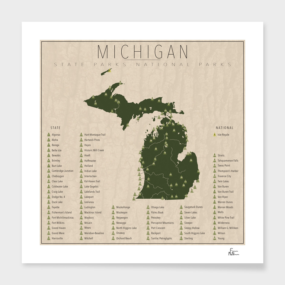 Michigan Parks