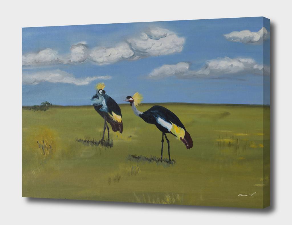 Royal Cranes