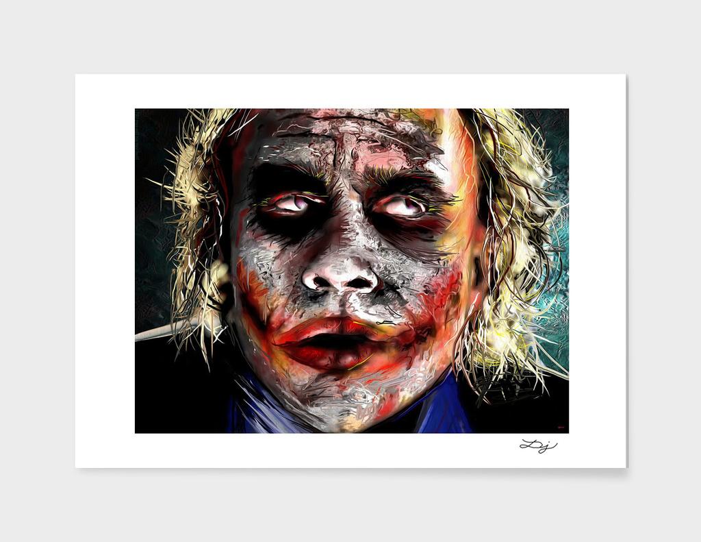 The Joker Painted