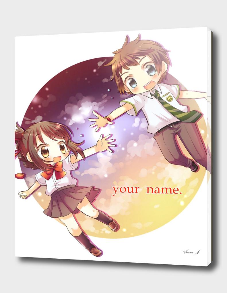 Kimi No Na Wa Mitsuha & Taki