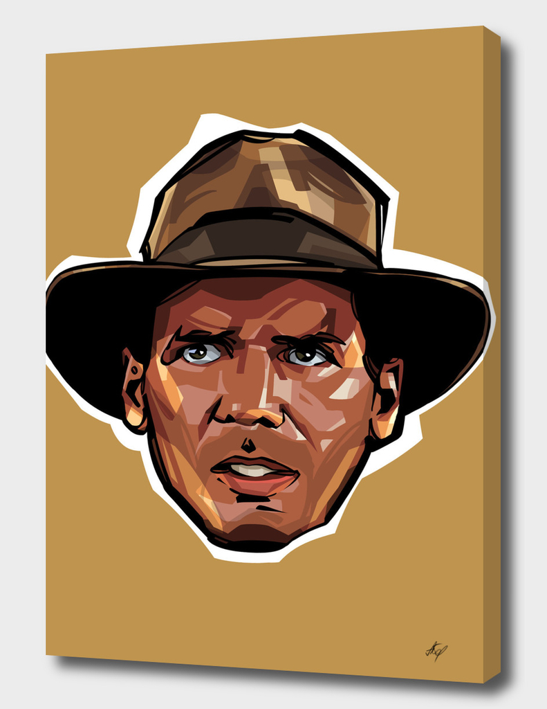 Indiana Jones Head