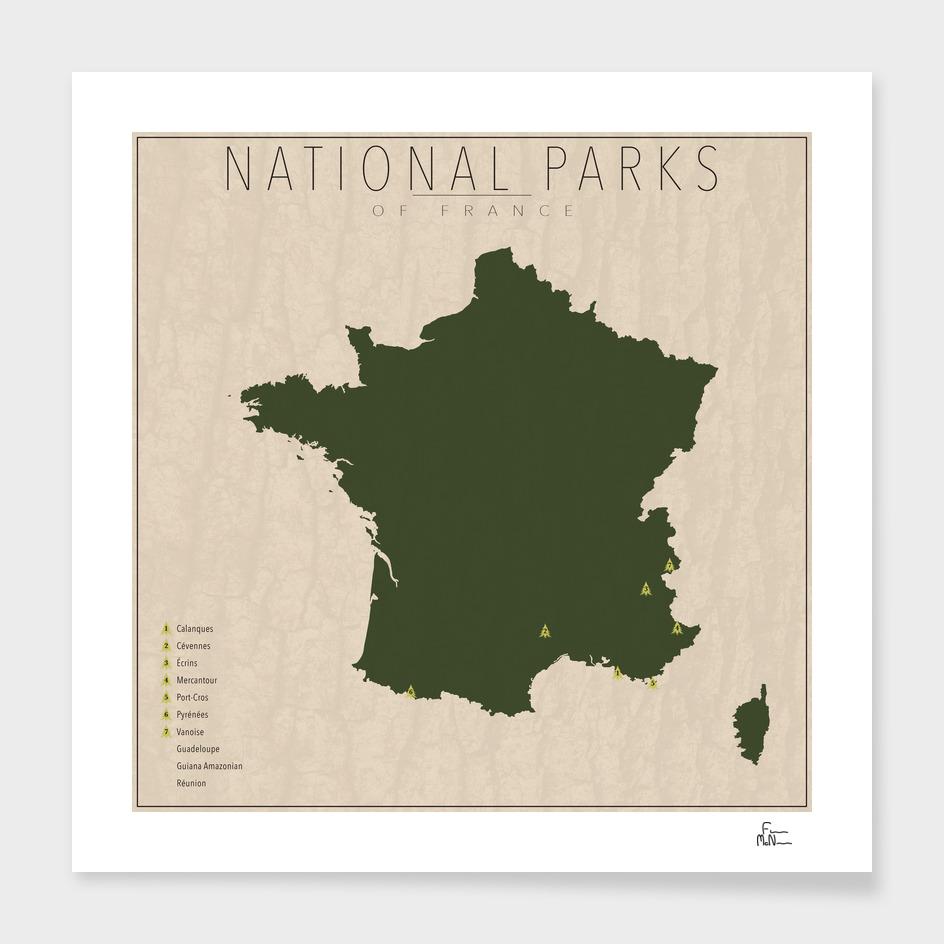 National Parks of France