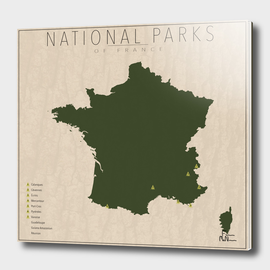 National Parks of France