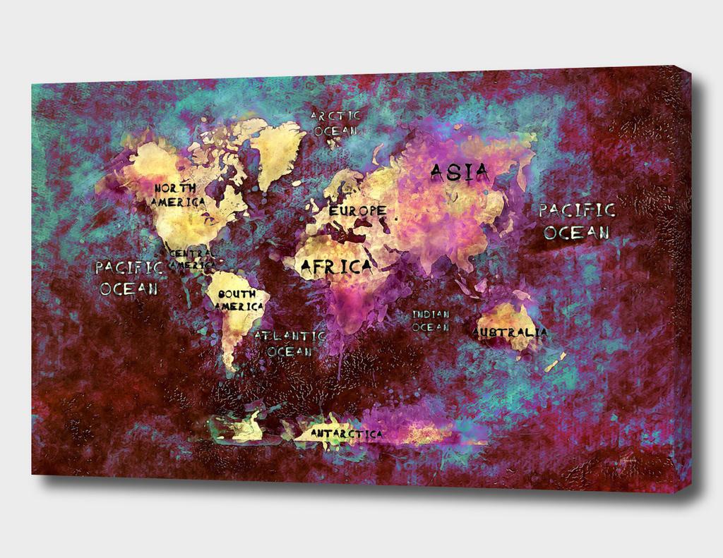 world map 44