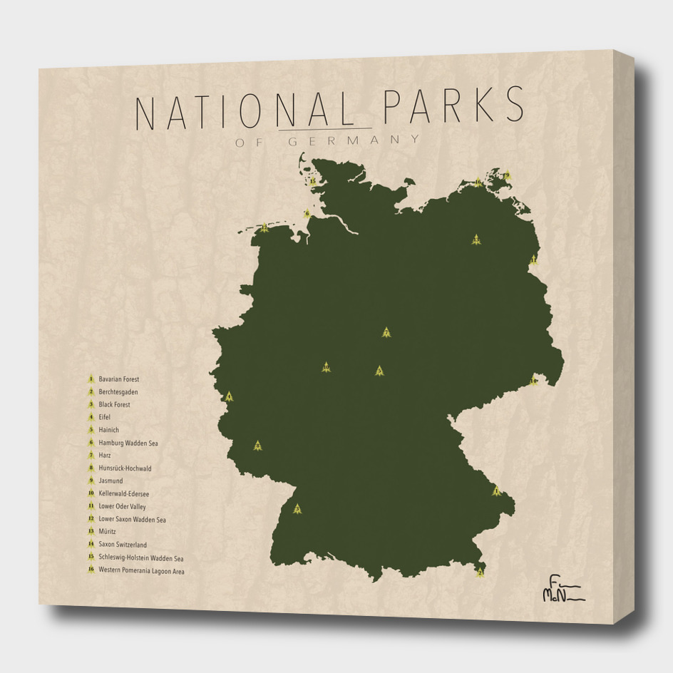 National Parks of Germany