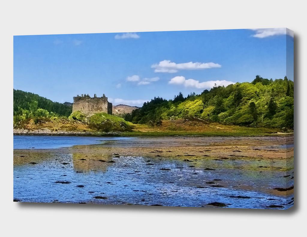 Castle Tioram on Loch Moidart