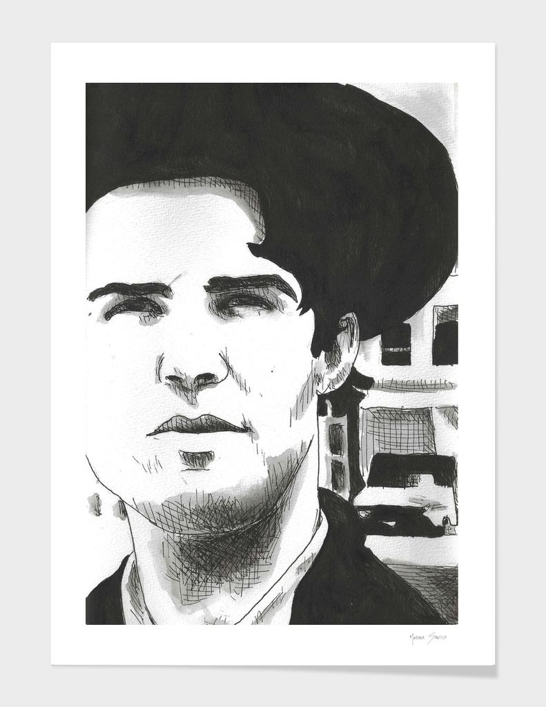 Lloyd Cole Drawing