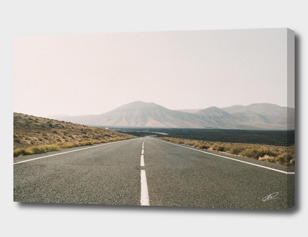 Road to Timanfaya