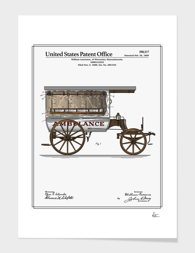 Ambulance Patent