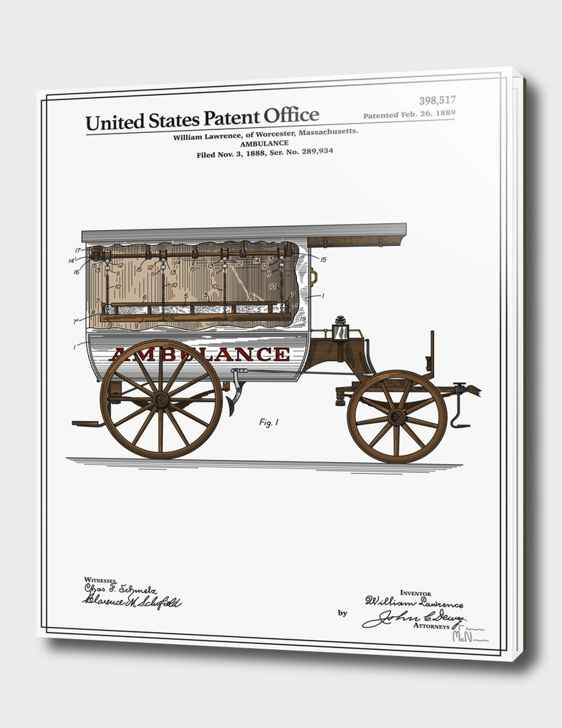 Ambulance Patent