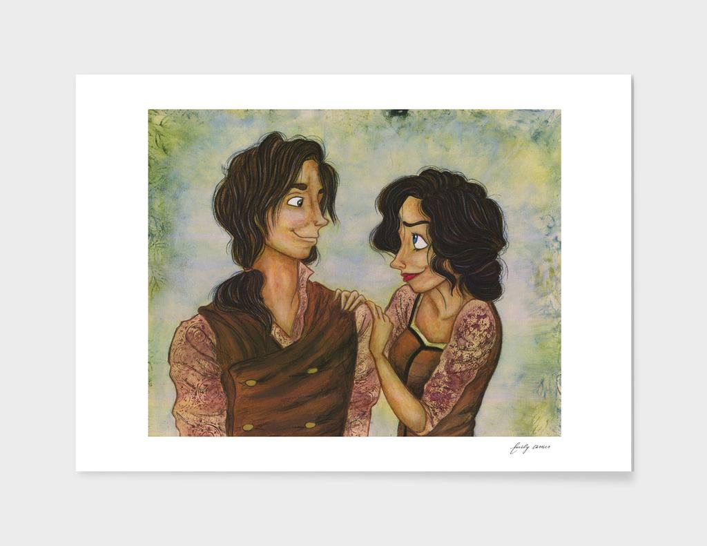 Amelia and James