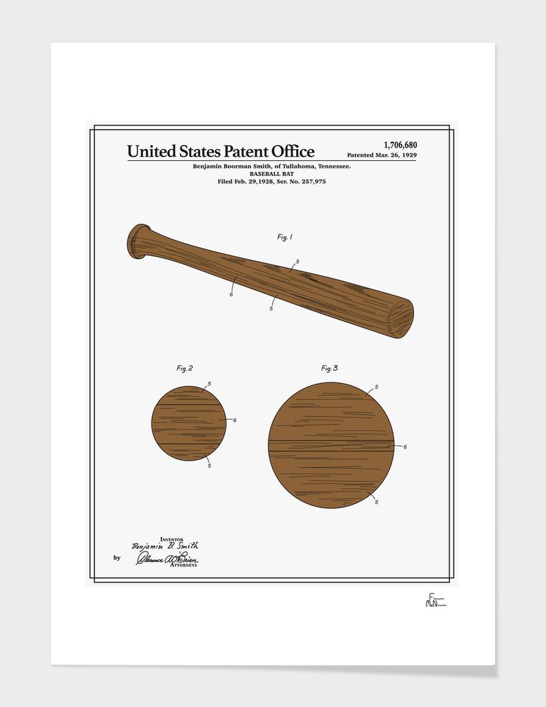 Baseball Bat Patent