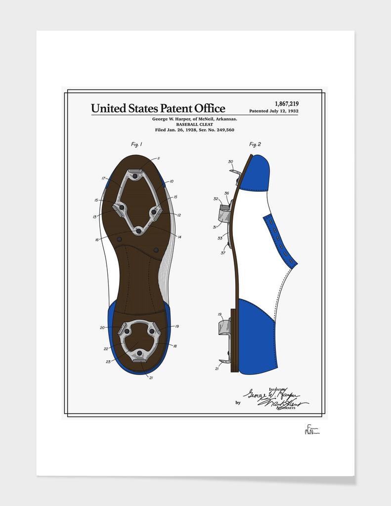 Baseball Cleat Patent