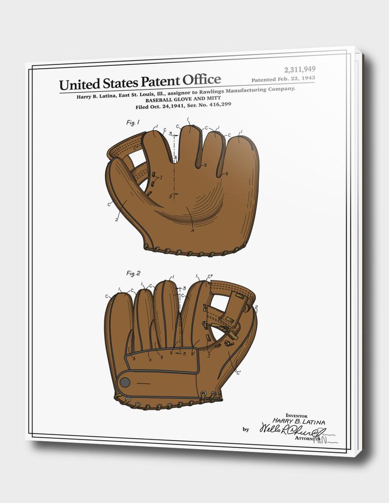 Baseball Glove Patent