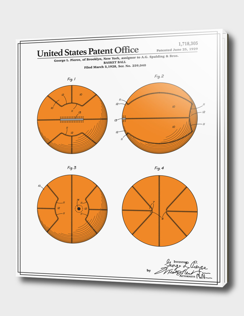 Basketball Patent