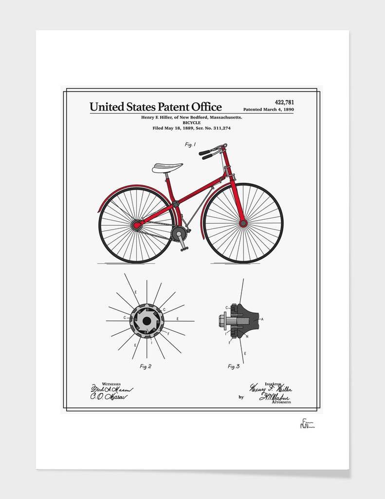 Bicycle Patent