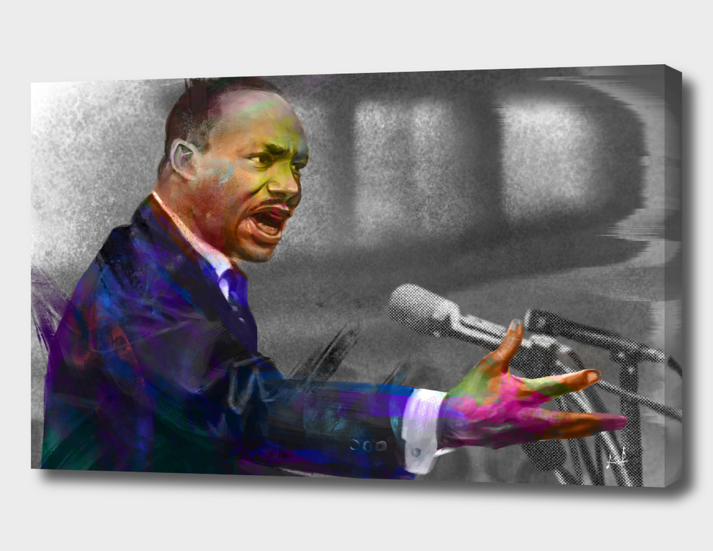 Martin Luther King Jr.-color