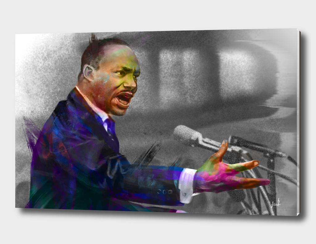 Martin Luther King Jr.-color