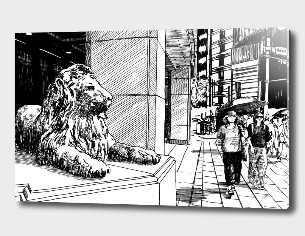 Japan str lion