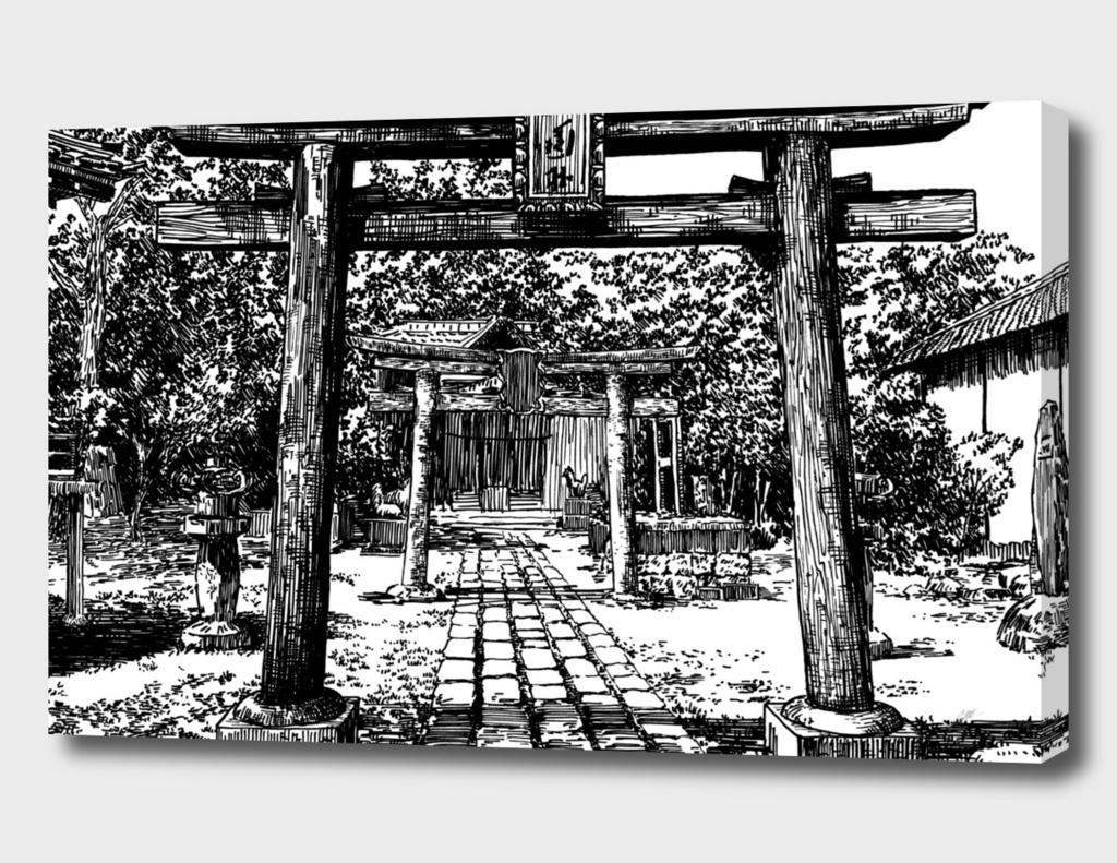 Japan gates A