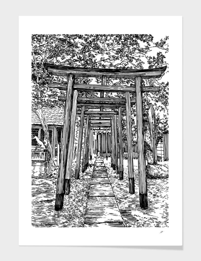 Japan gates B