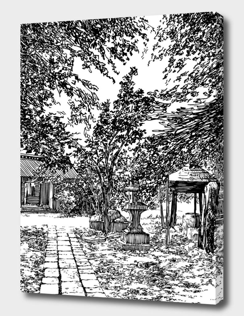 Japan garden D