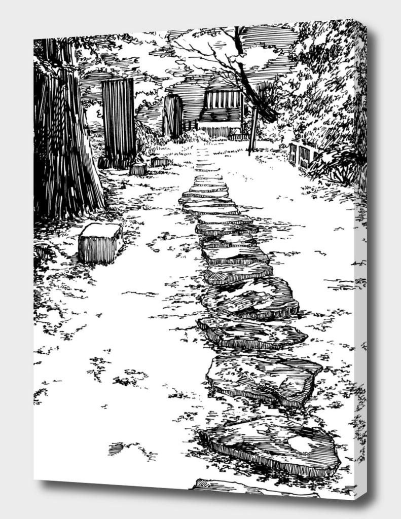 Japan garden E