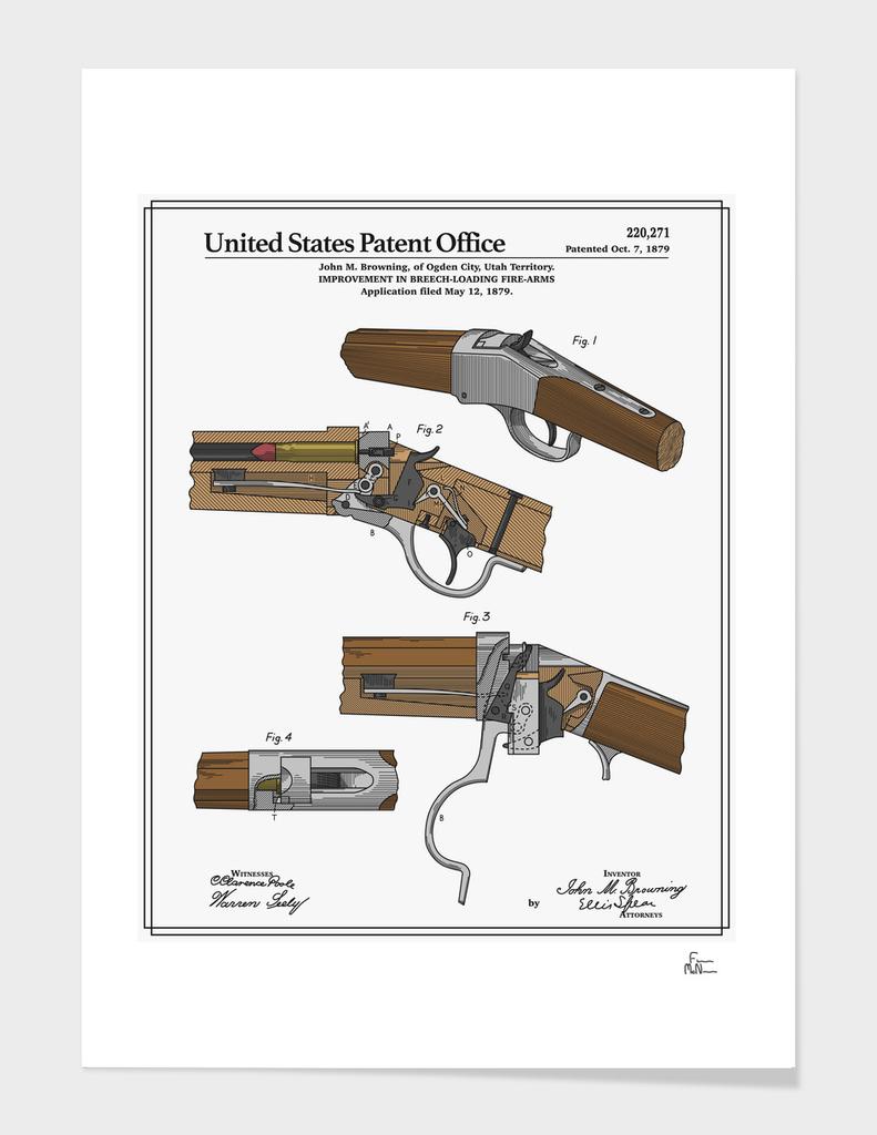 Breech Loading Rifle Patent